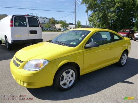 2006 chevrolet cobalt ls coupe in rally yellow 807293