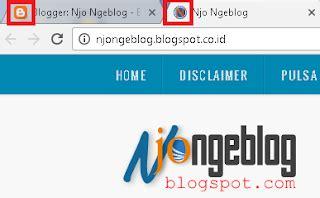 membuat logo favicon cara membuat logo favicon blog njo ngeblog