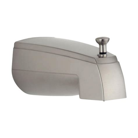bathtub spout with diverter delta faucet rp19820ss 5 5 in diverter tub spout atg stores