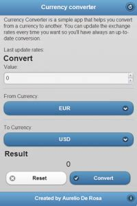 currency converter jquery build a currency converter with jquery mobile and cordova