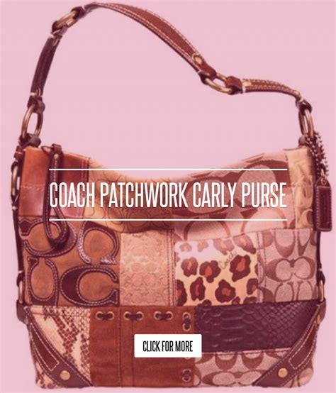 Coach Patchwork Purse Collection - coach patchwork purse fashion