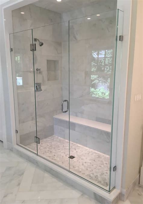 Custom Shower Glass Doors Frameless Frameless Shower Doors River Glass Designs Md Dc Va