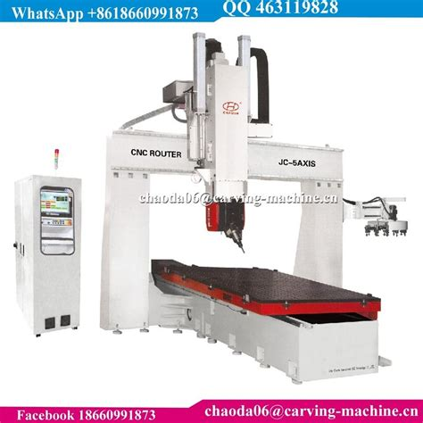 axis price factory price china cheap price 5 axis cnc router 5