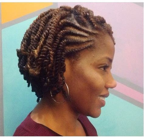 two strand twist braids hairstyles for black women http flat twist and two stand twist natural hair styles