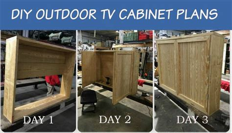 diy outdoor tv cabinet 17 best images about outdoor tv cabinets on pinterest