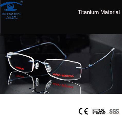 aliexpress buy memory titanium rimless