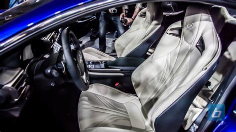new lexus rcf interior 2015 lexus rc f coupe debuts in motor city