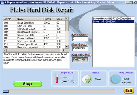 Repair Harddisk clear password disk software paragon