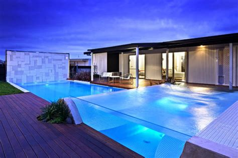 glas pool outdoor swimming pool with glass concept modern pool