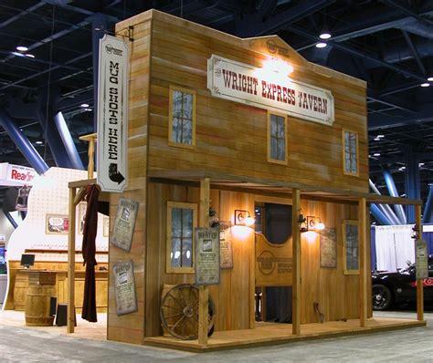 Home Office Decor Saloon Themed Tradeshow Display Jk Designs