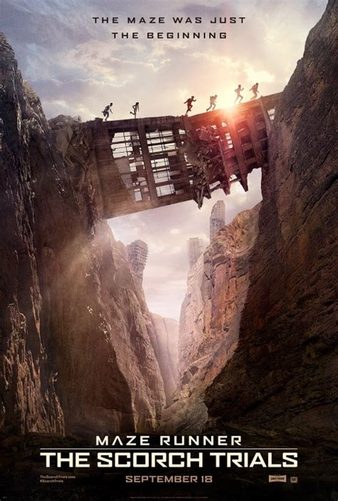 maze runner film awards maze runner the scorch trials movie poster 2 of 19