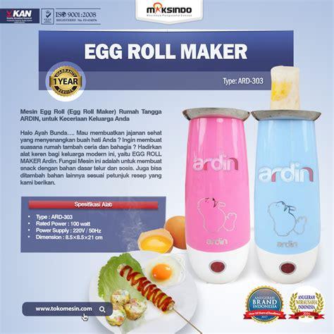 Mesin Egg Roll egg roll maker ard 303 toko mesin maksindo surabaya