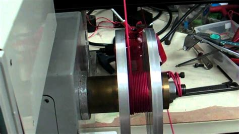 diy inductors audio audio inductor coil layer winding with cnc machine heavy duty guide arm