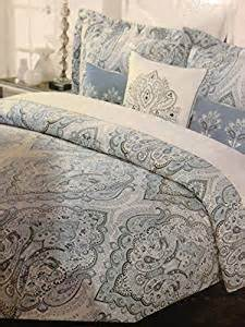 Tahari Comforter Amazon Com Tahari Home Blue Slate King Duvet Cover Set