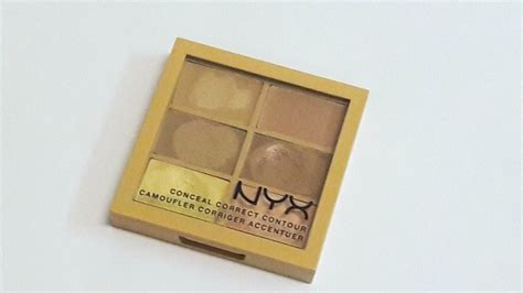 Nyx Corrector Palette nyx conceal correct contour palette review