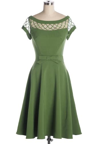 Dress Alika alika dress in green 144 95 s vintage style