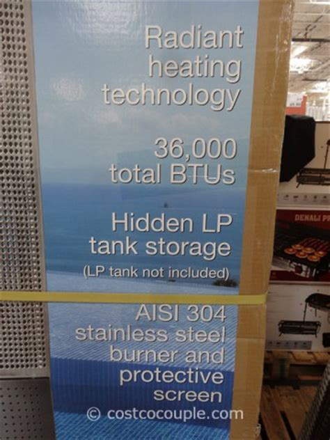 outdoor heat ls costco grand hall totum patio heater 36 000 btu new in box ebay
