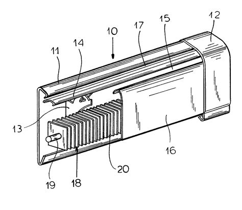 baseboard dimensions patent us20030230396 pivot assembly for baseboard heater