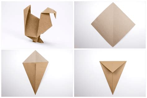 How To Make A Origami Turkey - how to make an origami turkey