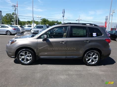 subaru forester touring interior 2017 sepia bronze metallic subaru forester 2 5i touring