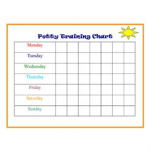 potty reward chart template potty charts 9 free documents in pdf