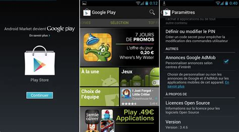 play on android l application play store est disponible au t 233 l 233 chargement frandroid