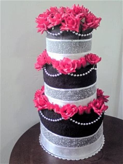 towel cakes for bridal shower ideas power to personalize your wedding bridal shower towel cake