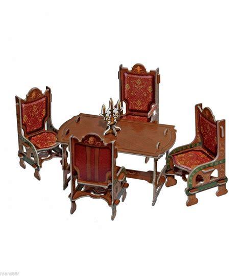 victorian doll house dining room furniture set umbum