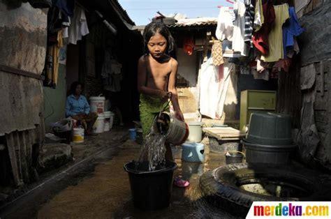 erafone tasikmalaya foto minimnya fasilitas air bersih di permukiman kumuh