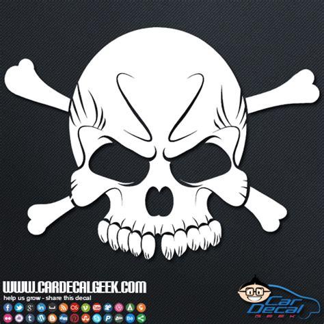 cool skull vinyl car window decal sticker