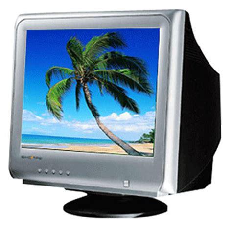 Monitor Cembung gambaran perbedaan layar crt lcd dan led dederereveve s