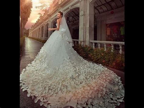 Top 50 Latest Most Beautiful Wedding Bridal Dresses In The