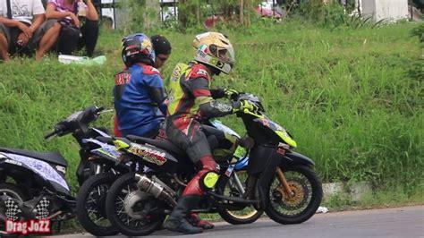 V Bell Mio J road race yamaha mio menang