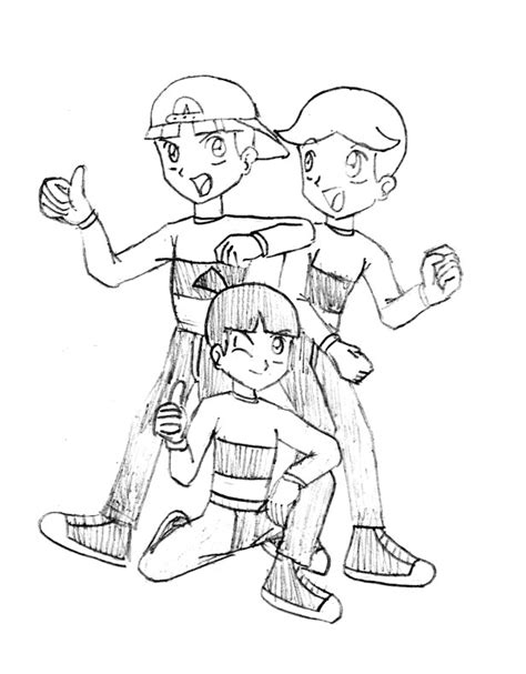 Rowdyruff Boys Coloring Pages Coloring Home The Rowdyruff Boys Coloring Pages