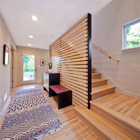 Treppenhaus Wandgestaltung Modern by Kleines Haus Quartersawn Mit Modernem Interieur