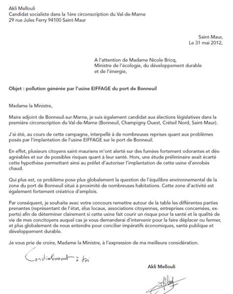 Exemple De Lettre Nuisance Sonore modele lettre nuisance voisinage