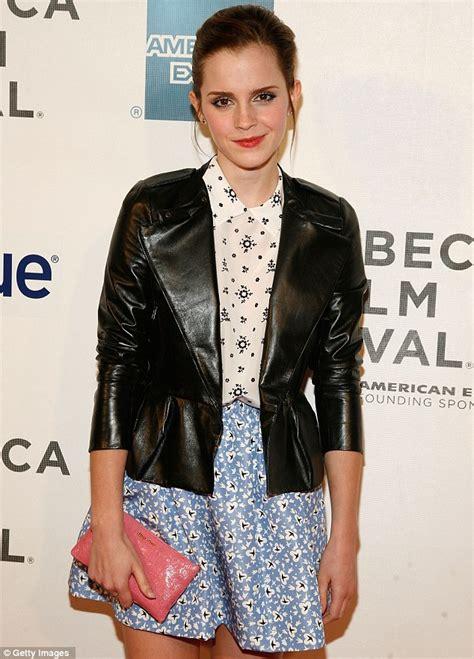Emma Watson Tribeca Film Festival Outfit | tribeca film festival 2012 emma watson shows off her pins
