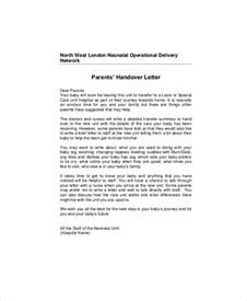 Official Handover Letter Format Note Sle 5 Exles In Word Pdf