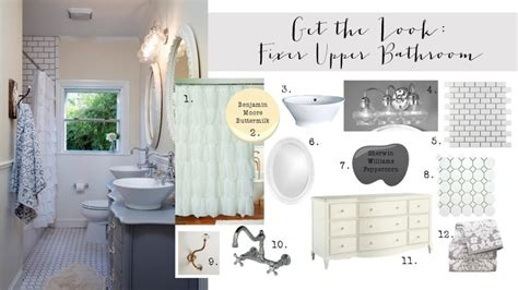 Get the Look: Fixer Upper Bathroom {2nd Edition}   House