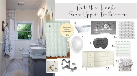 Get the Look: Fixer Upper Bathroom {2nd Edition}   House of Hargrove