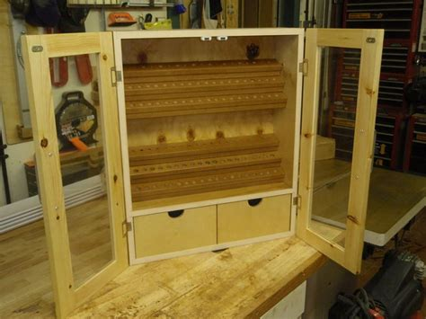 router bit wall cabinet  scraps  bluekingfisher