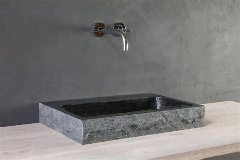 granit waschtisch naturstein waschtisch palermo granit bossiert spa ambiente
