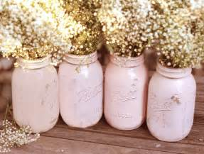 shabby chic centerpieces shabby chic weddings jars distressed paint glass jar