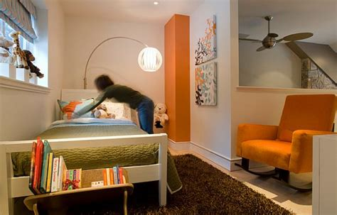 green and orange bedroom magical kids bedrooms that will inspire your renovations