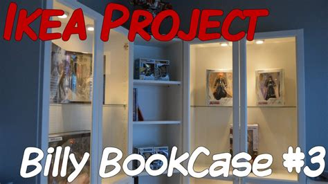 Corner Billy Bookcase Ikea Project Billy Bookcase Part 3 Youtube