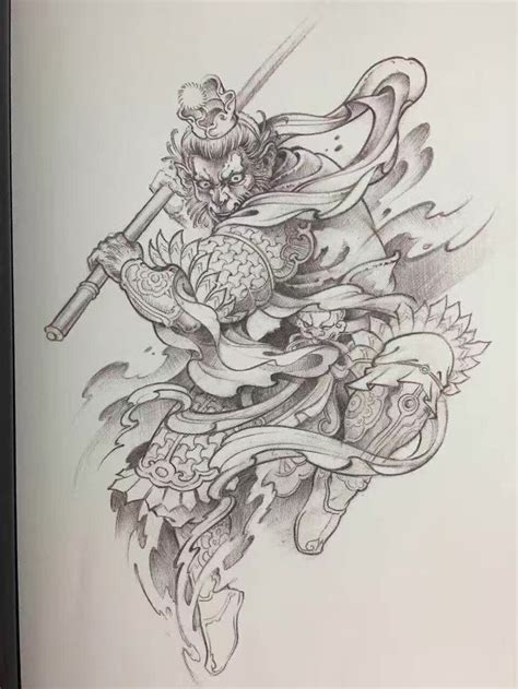 chinese warrior tattoo 392 best more ink images on ideas