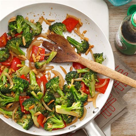 vegetables for stir fry almond vegetable stir fry recipe taste of home