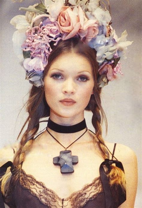 Send Flowers To Kate Moss And Feature In A V Magazine Shoot by Miss Kate Moss Baddaisy
