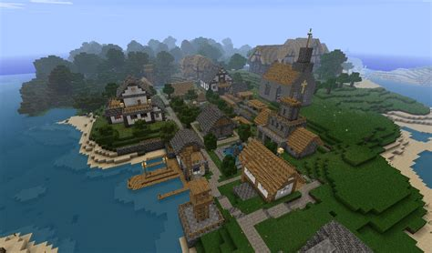 Cool Home Design Blogs by Small Village Minecraft Project