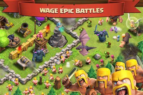 download game coc mod flame wall coc images play clash of clans game online coc wallpaper